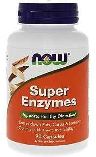 Now Foods - Enzimas de las plantas sin soja, 120 cápsulas ...
