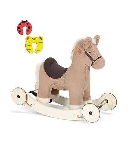 Mamas & Papas marrón Rock and Ride – Caballo balancín con sonidos a partir de 12