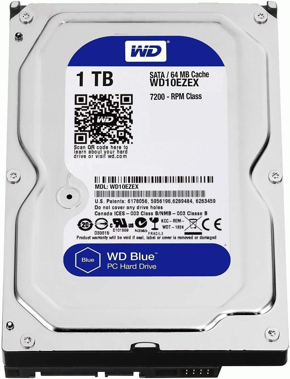 Western Digital Wd10ezex Caviar Blue 1000 Gb Interne Computer Zubehör
