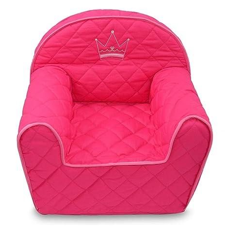 BS Krone rosa Kindersessel Sessel Kinder Kindersofa Minisofa Kinder ...