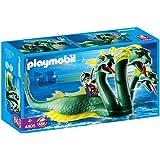 Playmobil - 4805 - Figurine - Animaux - Serpent de Mer à Trois Têtes et Pirate Fantôme
