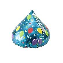 "Animal Adventure 59168 Hershey's Kisses Celebration Themed Plush Kiss with Balloon Print, 14"" x 14"" x 14"""