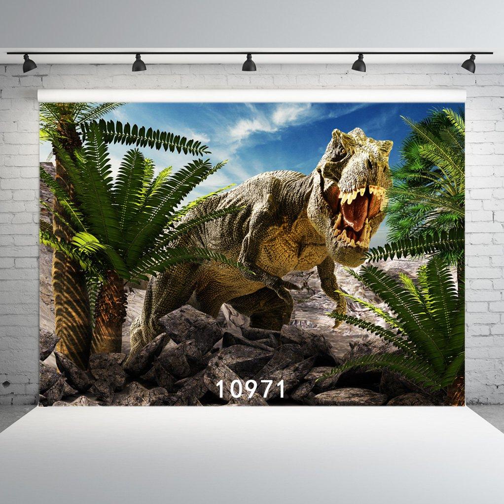 WOLADA 7X5ft Jurassic World Backdrop Dinosaur Photography Backdrop Customized Photo Background Props for Studio Props 10971