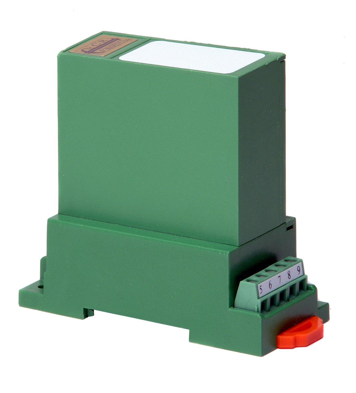 CR Magnetics CR4860-500 3-Element 3-Wire Average RMS AC Voltage Transducer, 20 Hz - 5 KHz, 0 - 300  Output Load, 24 VDC +/-10%, 0-500 VAC Input Range, 4 - 20 mADC Output Range