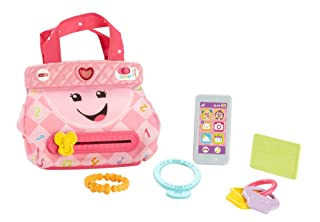 Fisher-Price FPM43 Ridere e Imparare Smart Fasi Purse Inglese e Francese Laugh & Learn FPR50