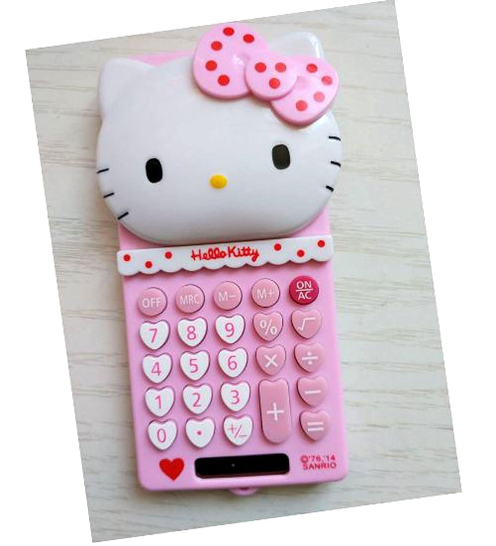 Di Grazia Pink Colour Hello Kitty Design 8 Digitals Basic Electronic