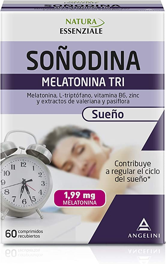 Melatonina Tri - 60 Comprimidos - La melatonina es una hormona que ...