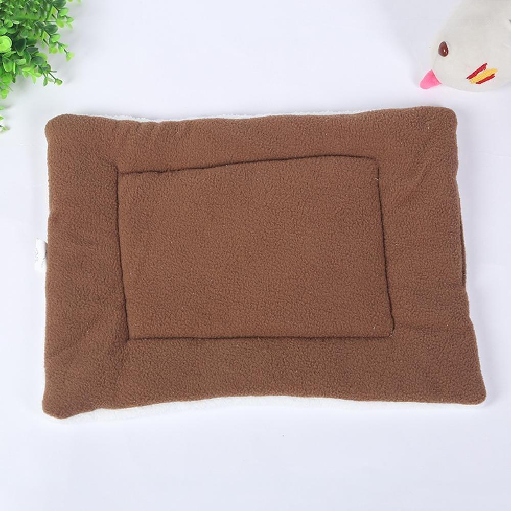 C 8255 C 8255 Desti Flakes Pet Bolster Dog Bed Comfort Candy color Lamb Plush pet mat cat Dog Cat Cushion (color   C, Size   82  55)