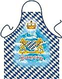 Schürze = Freistaat Bayern mit Herz = Das Original direkt von ITATI-Textilien (GR-41869)