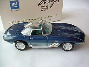 2007 Hallmark Keepsake Ornament 1961 Chevrolet Corvette Mako Shark I