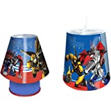 """""""Transformers"""" Lamp and Shade Set, Blue"""