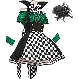 8mm お茶会の奇術師 マッドハッター コスプレ 衣装 コスチューム クリスマス レディースサイズ Mサイズ