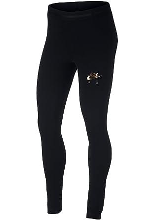 Nike Air Women s Leggings - Black - Small  Amazon.co.uk  Clothing 8092cfb740d