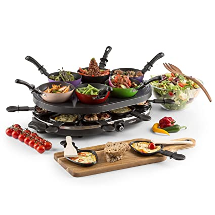 Oneconcept Woklette Raclette Grill • Grill de sobremesa • Barbacoa-Party • 1200 W •