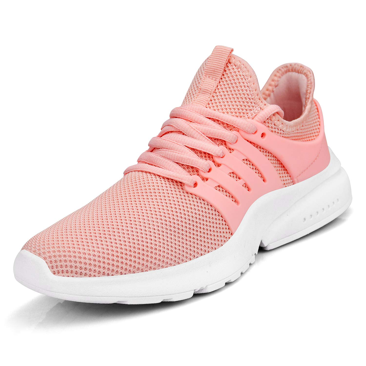 Pink Feetmat Women's Running shoes Lightweight Non Slip Breathable Mesh Sneakers Sports Athletic Walking shoes