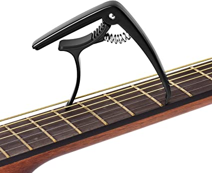 Tune Quick Change Capo Key Clamp für Gitarren Ukulelen Mandoline Banjo