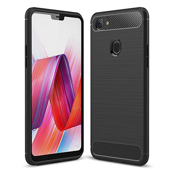 best sneakers 0524a 321c3 Amazon.com: UBERANT OPPO F7 Case, Ultra Slim Resistant Carbon Fiber ...