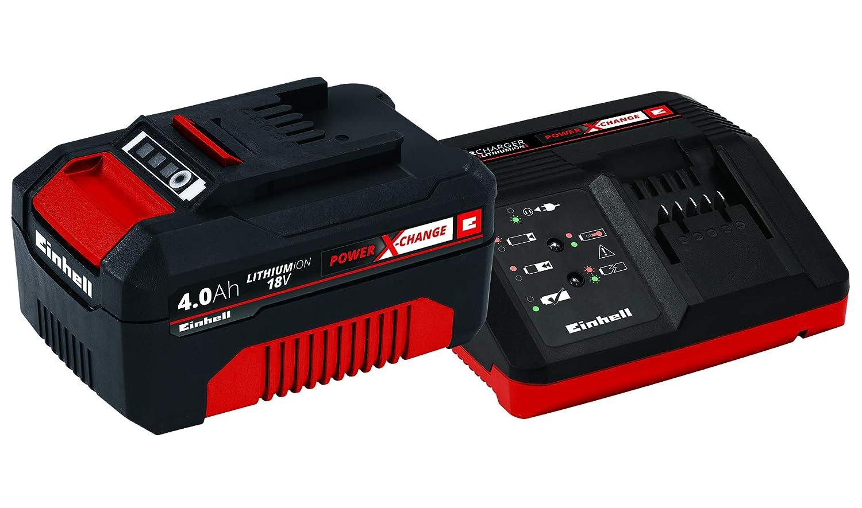 Einhell Power X-Change 18V Akku und Schnellladegerät