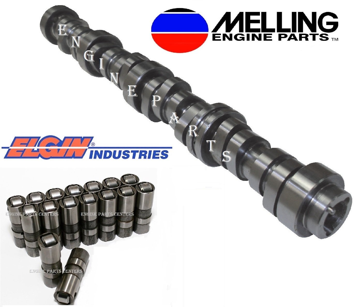 1. Melling Engine Kits 2007-2013 Chevrolet GM Silverado Sierra Truck 4.8 4.8L OHV NON-AFM Camshaft & Lifters Kit