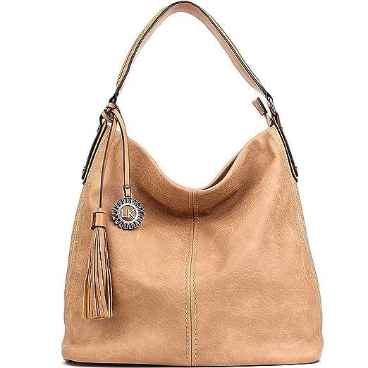 0f04a513 Amazon.com: Women Handbags UTAKE Shoulder Bags Hobo Handbags for Women PU  Leather Large Capacity 2pcs sets: Clothing