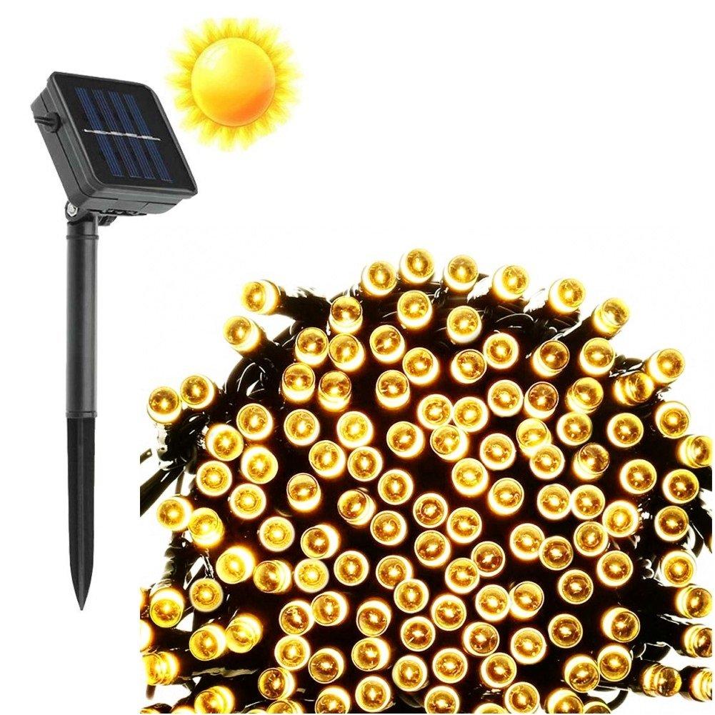 Goodia 40Ft 12M 100 Led Solar Waterproof Ambiance Lightingstring Lights For I.. 18