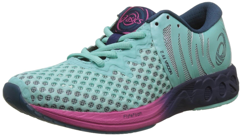 Asics Noosa FF 2, Zapatillas de Entrenamiento para Mujer 37.5 EU|Azul (Aruba Blue/Indigo Blue/Fuchsia Purple 8849)