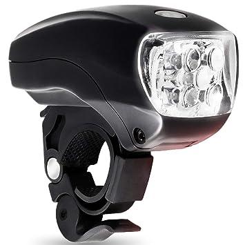 YBZS Establecer la luz Delantera de la Bicicleta, Cinco LED ...