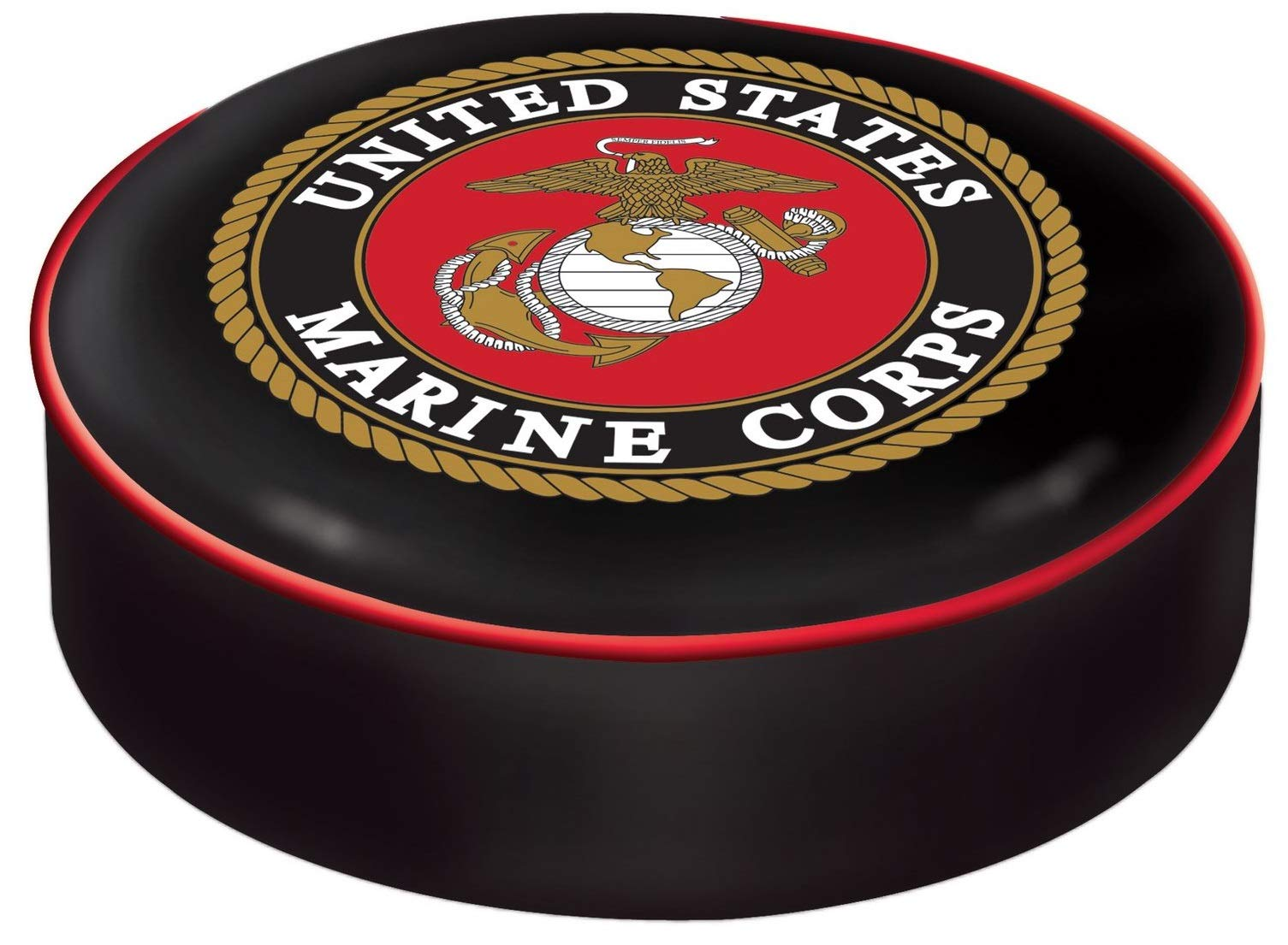 Holland Bar Stool Co. U.S. Marines Seat Cover by Holland Bar Stool Co.