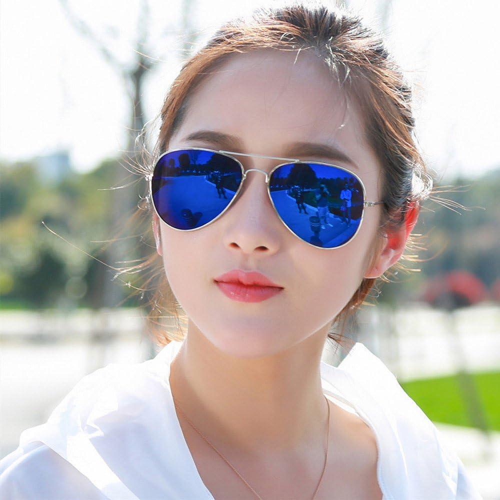 KUDICO Unisex Brillen Hochwertige Pilotenbrille Sonnenbrille Metallrahmen Spiegelglas Gl/äser Leichtmetall Acetatlegierung Eyewear Sunglasses