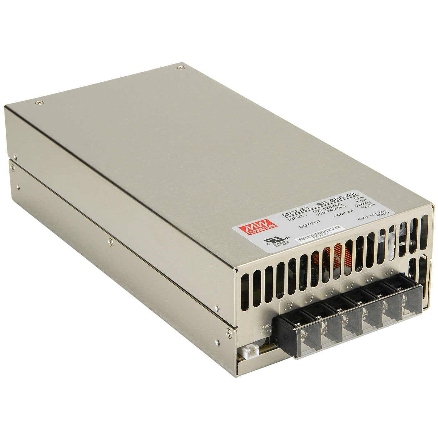 Parts Express 48 Vdc 125a 600w Regulated Power Supply 220vac To 24vdc Using Voltage Regulator Computers Accessories