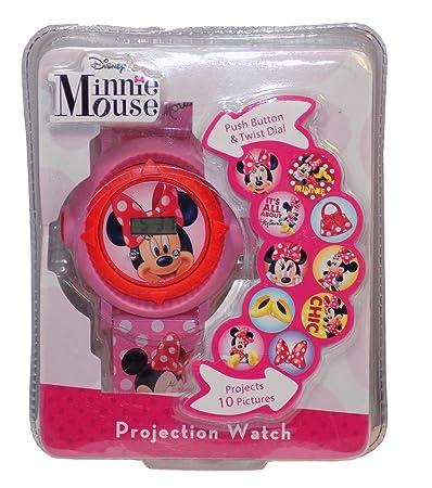 Amazon.com: Disney Minnie Mouse botón & Twist Dial LCD ...