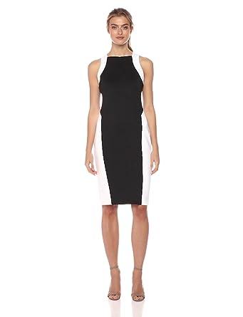 2ab7a5954e12 Calvin Klein Women s Sleeveless Color-Block Dress at Amazon Women s ...