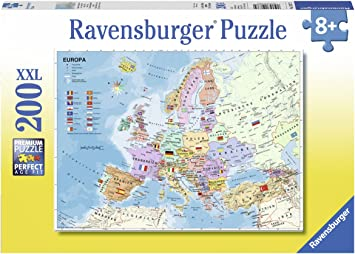 Ravensburger-4005556128372 Puzle Infantil «Carta de Europa política», Multicolor (4005556128372): Amazon.es: Juguetes y juegos