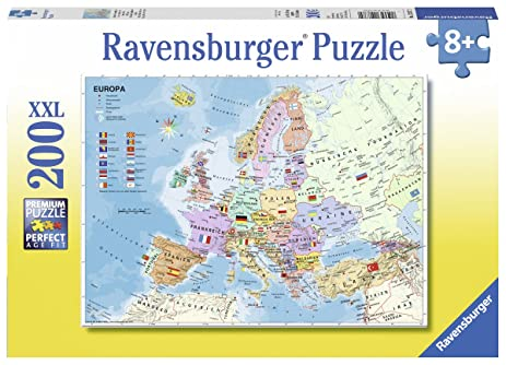 Amazon ravensburger political map of europe jigsaw puzzle ravensburger political map of europe jigsaw puzzle 200 piece gumiabroncs Gallery