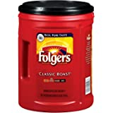 Folgers Classic Roast Ground Coffee - 48 oz (Pack of 2) by Folgers (96 oz)