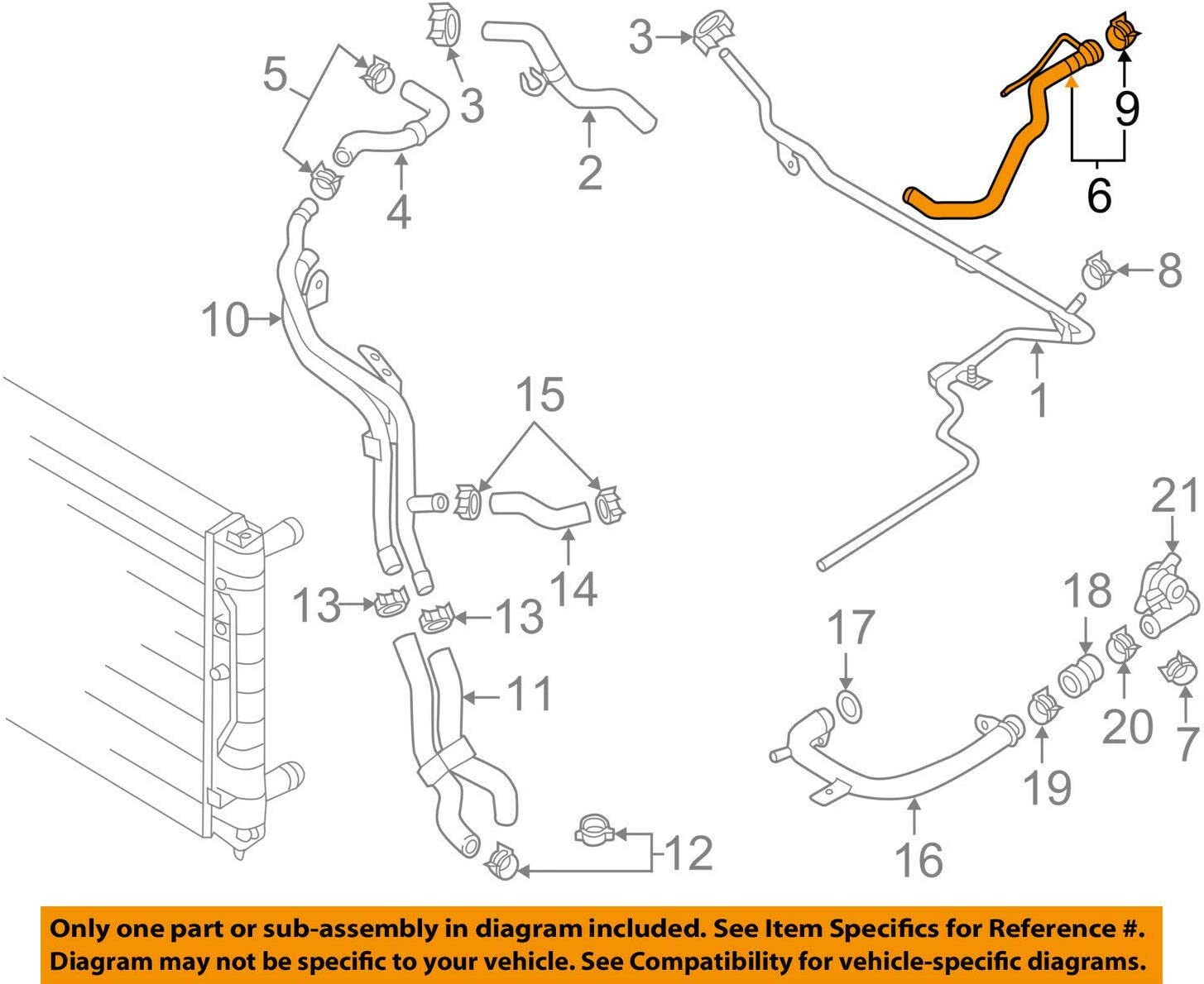 29 2001 Vw Jetta Radiator Hose Diagram
