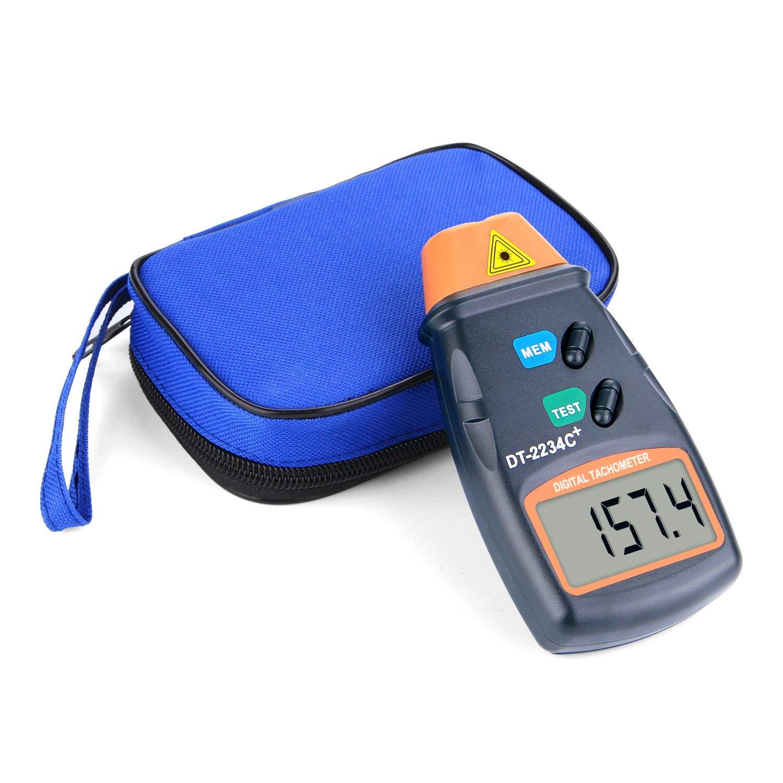 AGPtek/® Professional Digital Laser Photo Tachometer Non Contact RPM Tach