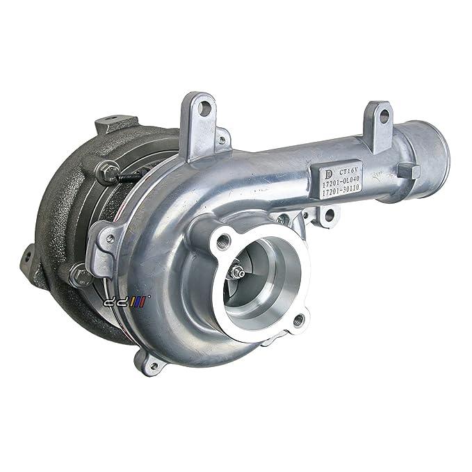 Turbo Turbocompresor para Toyota Hilux VIGO D4D kun26 1 KD 1 kd-ftv CT16 V 17201 - 0L040: Amazon.es: Coche y moto