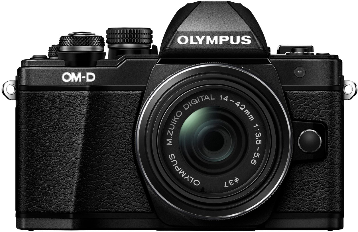 Olympus E-M10 Mark II Kit con Obiettivo M.Zuiko Digital 14‑42 mm 1:3.5‑5.6 II R, Nero product image
