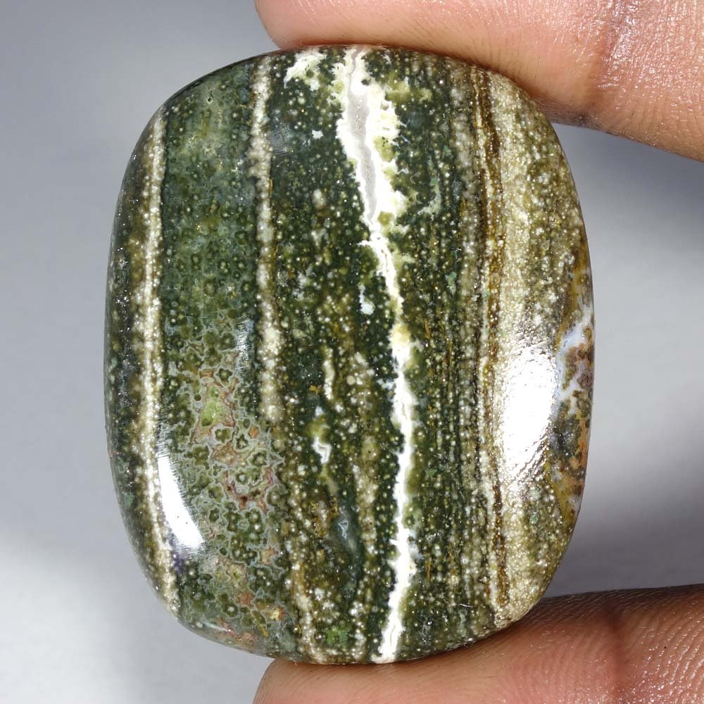 79.75Cts.100% Natural Ocean Jasper Cushion Cab Fine Quality Loose Gemstones