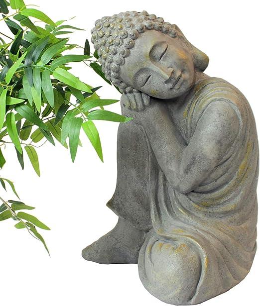 Multistore 2002 - Figura de Buda apoyado sobre su rodilla (43 cm ...