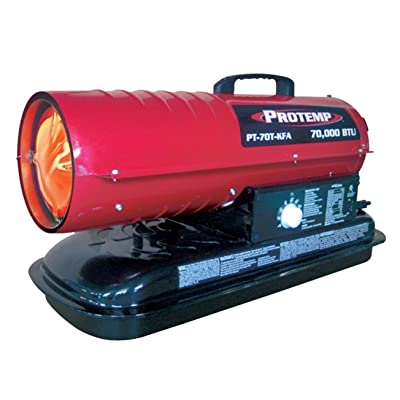 Pro-Temp 70,000 BTU Forced Air Kerosene Heater