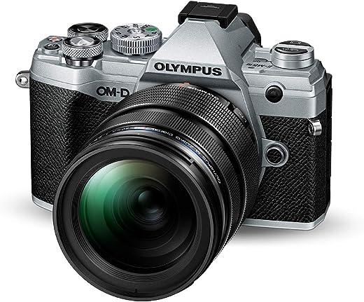 Olympus OM-D E-M5 Mark III Micro Four Thirds System Camera Kit (20 MP Sensor, 5-Axis Image Stabilisation, Powerful Autofocus, 4K video, Wi-Fi),…