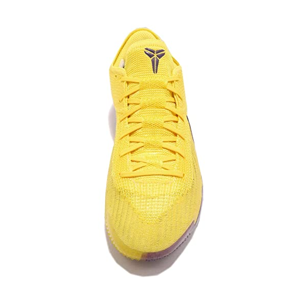 Amazon.com | Nike Mens Kobe AD NXT 360, Yellow Strike/White | Basketball