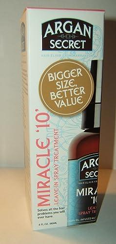 Argan Secret - Miracle 10 Leave-In Treatment Argan Secret - Miracle 10 Leave-In Treatment - 180 ml 6fl oz