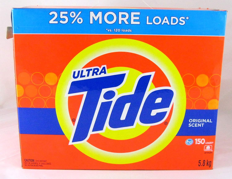 Tide Ultra Original HE Powder Laundry Detergent, 150 Loads by Tide