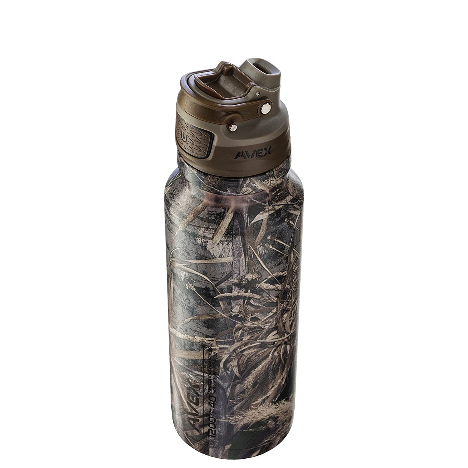 AVEX FreeFlow Stainless Autoseal Water Bottle Avex by Ignite USA 73400