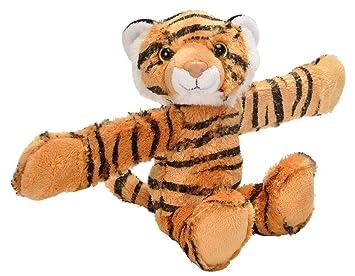 Amazon Com Wild Republic Huggers Tiger Plush Toy Slap Bracelet