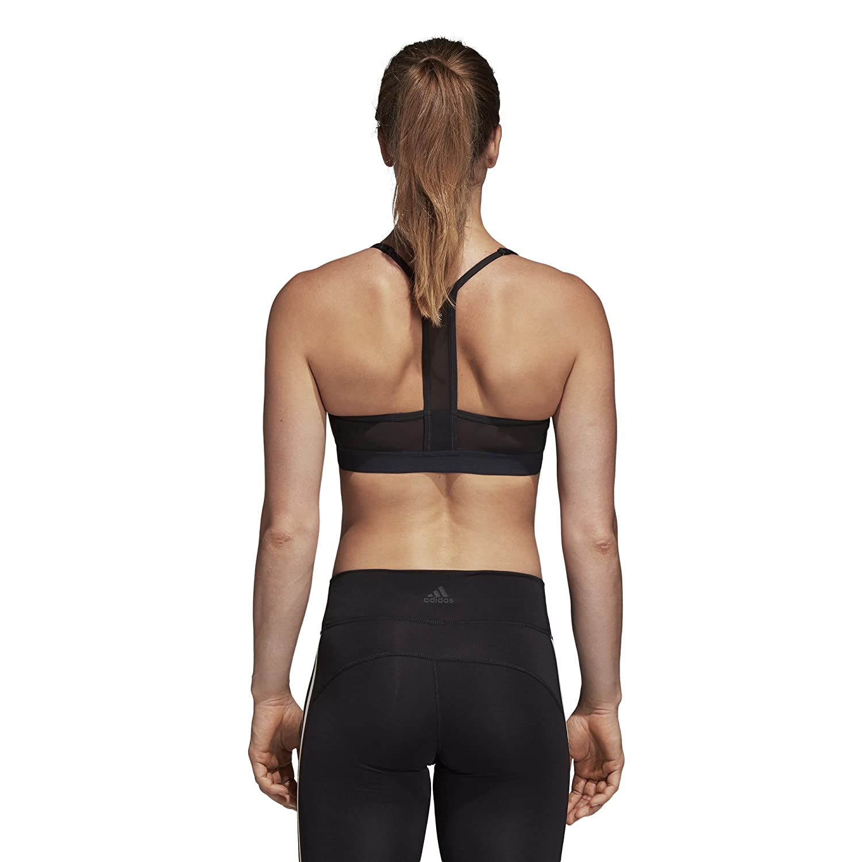 9c63c82d19628 Amazon.com: adidas Training All Me 3 Stripes Bra: Sports & Outdoors