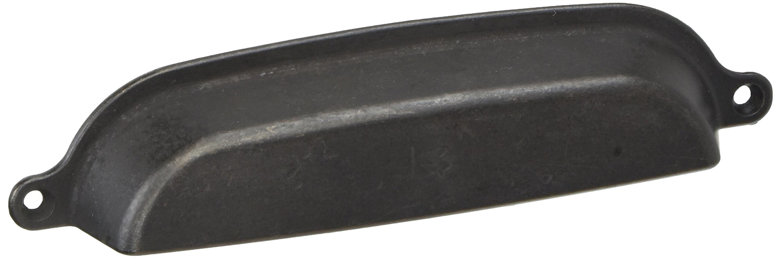 MNG Hardware 84813 Riverstone Cup Pull, 6'', Oil Rubbed Bronze